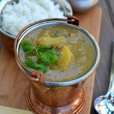 Pindi Miriyam (Andhra Style Vegetable Stew with Peppercorns)