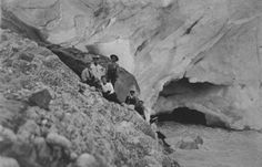 [Alpine Club members at Yoho Glacier (?)] - Alberta On Record