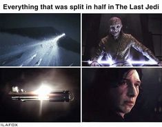 Actually kylo was being torn apart in the force awakens... so is he different
