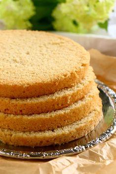 Munaton ja maidoton kakkupohja Cornbread, Vanilla Cake, Gluten, Baking, Ethnic Recipes, Sweet, Desserts, Food, Egg