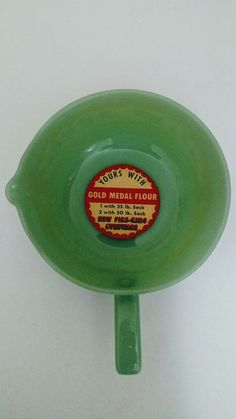 Vintage RARE NEW JADITE FIRE KING JADEITE With Label,40s/50s Skillet with Handle