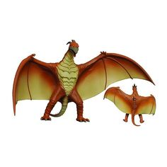 Godzilla Rodan 1993 Vinyl Figural Bank by Diamond Select Toys, Multicolor