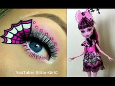 Monster High's Draculaura Exchange Doll Makeup Tutorial. Youtube channel: full.sc/SK3bIA