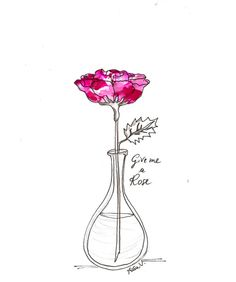 A Rose to say….