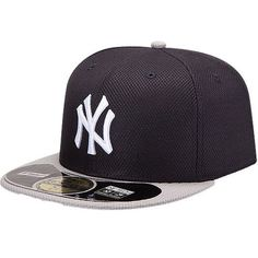 75f9432d07980 Men s New York Yankees New Era Navy Gray On Field Diamond Era 59FIFTY  Fitted Hat