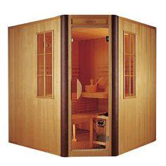 Indoor Sauna - so want this!
