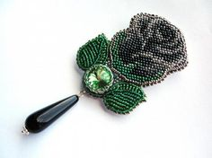 Я это сделала!. Like the design but not sure about a BLACK rose! Curleytop1.