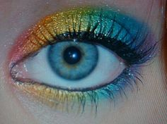 More rainbow makeup, its my favorite!