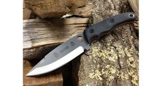 Vulture Equipment Works Vulture Cholera Fixed Blade Knife,4.5in,1095 High Carbon Steel,Clear Cerekote,Grey Linen Micarta Handles VEW-FBC