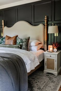 5 simple items to use in the bedroom to make it feel cozy for Fall   smart choices to stretch decor into other seasons.