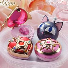 Miniature Sailor Moon items!