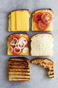 """South African """"Braaibroodjie"""" - toasted sandwiches on the barbeque. South African Braai, South African Dishes, South African Recipes, I Love Food, Good Food, Yummy Food, Braai Recipes, Cooking Recipes, Oven Recipes"""