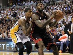 Can Paul George & The Pacers Kiss The Heat Goodbye or Will LeBron James Show Who's The King? #Pacers   #indianapacers   #indiana   #pacersvsheat   #pacersheat   #miamiheat   #heat   #heatnation   #miami   #pacersnation   #nba   #nbaplayoffs   #nbaplayoffs2013   #game7   www.stores.ebay.com/G-Sports-Enterprises