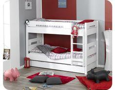 Bow Bunk bed - white/mykidecoroom.com