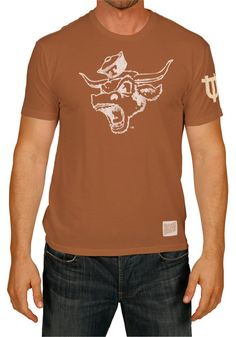 Texas Longhorns Retro Brand Mens Burnt Orange Angry Bevo T-Shirt http://www.rallyhouse.com/shop/texas-longhorns-original-retro-brand-texas-longhorns-retro-brand-mens-burnt-orange-angry-bevo-tshirt-4812549 $32.99