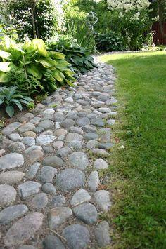trädgårdsdesign sten