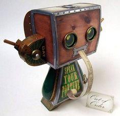 Steampunk Fortune Teller Machine