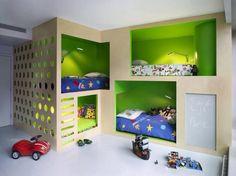 A great boys room idea