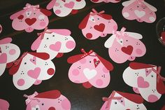 Puppy Love Valentine Cards Homemade Valentines,#DIY,Valentine's Day Crafts