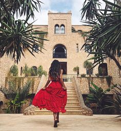 """334.2k Likes, 665 Comments - Shay Mitchell (@shaymitchell) on Instagram: """"I had a photo like this sitting on my vision board for YEARS. A woman in a red dress in Morocco…"""""""