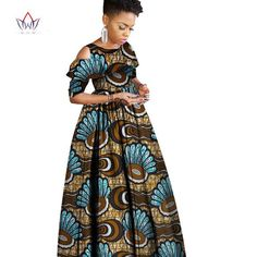 Sleeve Style: Off the Shoulder Dresses Length: Ankle-Length Estimated Delivery Attention: Size may be inch inaccuracy due to hand measure; Models are for reference only, Color may African Wear Dresses, Latest African Fashion Dresses, African Print Fashion, African Attire, Chitenge Dresses, Chitenge Outfits, Green Homecoming Dresses, Ankara Long Gown Styles, Ankara Clothing