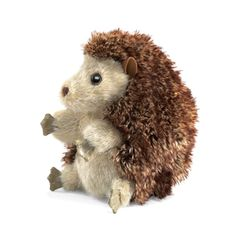 Full Body Hedgehog Puppet by Folkmanis Puppets: super cute & adorable, kids love this little Hedgehog.