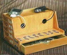 Como hacer un cajón para cargadores de celular ~ Solountip.com