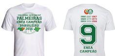 Sem choro, nem cheiro: Palmeiras lança camisa do enea com provocação ao Fla