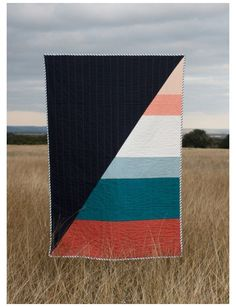 Interview with Modern Quilting Duo Hopewell #modern #quilts #contemporary #gray We learn more about Hollywood modern quilting duo Hopewell and their contemporary quilt designs inspired by painting and architecture.