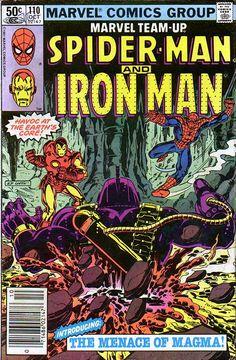 Marvel Team-Up # 110 by Bob Layton