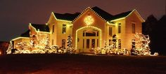 Outdoor Christmas decorating ideas: make it sparkle
