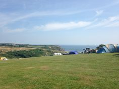 Three cliffs bay campsite Wales