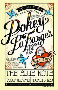 Pokey LaFarge Poster - Kendall Pearl