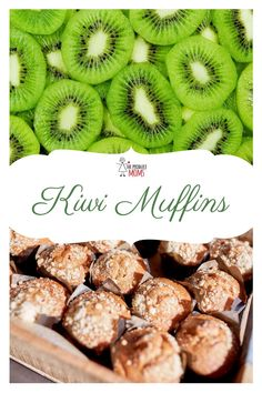 Kiwi muffins | Make these ahead of time and freeze for a delicioius breakfast treat, or the perfect afternoon snack. Grab the recipe today. | The Produce Moms Make Ahead Meals, Make Ahead Breakfast, Sweet Breakfast, Quick Easy Meals, Breakfast Recipes, Milk Recipes, Fruit Recipes, Easy Recipes, Snack Recipes