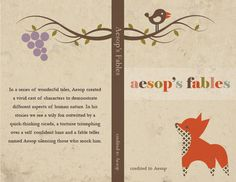 Book Cover: 'Aesop's Fables' on Behance