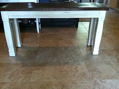 how to refinish and distress a table