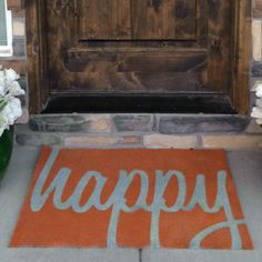 Fall DIY Rug with free templates