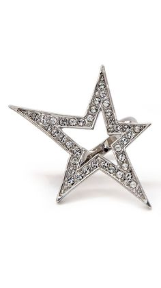 Superstar Ring - Silver - 6 by CC Skye