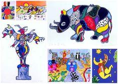Werke von Niki de Saint Phalle