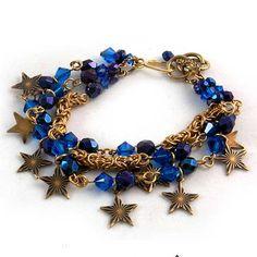 Tutorials | Starry Byzantine Bracelet | Handmade Fashion Jewellery – Devoted to DIY Jewellery