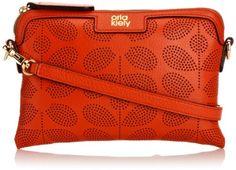 Orla Kiely Sixties Stem Punched Poppy Cross Body Bag �