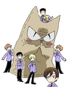 Beelzenef and the host club - Ouran High School Host Club - by ~carichan on deviantART