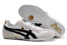 https://www.hijordan.com/asics-whizzer-lo-womens-white-black-gold.html ASICS WHIZZER LO WOMENS WHITE BLACK GOLD Only $74.00 , Free Shipping!
