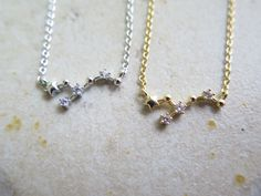 constellation necklace,Zodiac Constellation Necklace,Zodiac-sign,Virgo / the Virgin (Aug 23 - Sep with giftbox by thinlight on Etsy Zodiac Signs Virgo, Constellation Necklace, Zodiac Constellations, Arrow Necklace, Diamond, Unique Jewelry, Handmade Gifts, Etsy, Vintage