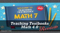 Teaching Textbooks Review Homeschool Math Curriculum, Homeschooling, Teaching Textbooks, Middle School, High School, Upper Elementary, The Creator, Student, Reading