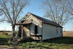 Deserted shotgun house