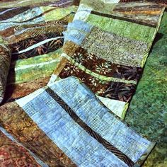 CapitolaQuilter: Redwood Grove quilt