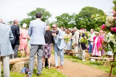 Matt and Alice's wedding blessing ceremony at their farm in Axminster, Devon. 27th June 2015. Ceremony designed and conducted by Diana Saxby www.gracetheday.com. Photos kindly supplied by Helen Cawte Photography www.helencawtephotography.com
