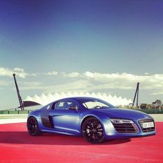 Audi R8 In Olympic Surroundings