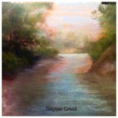 Pastel Painter Cooks by Sandi Graham: Paintings